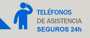 Teléfonos de asistencia de seguros 24h Sanchis asesores