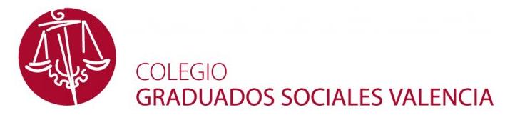 Sanchis Asesores pertenece al Colegio de Graduados Sociales de Valencia