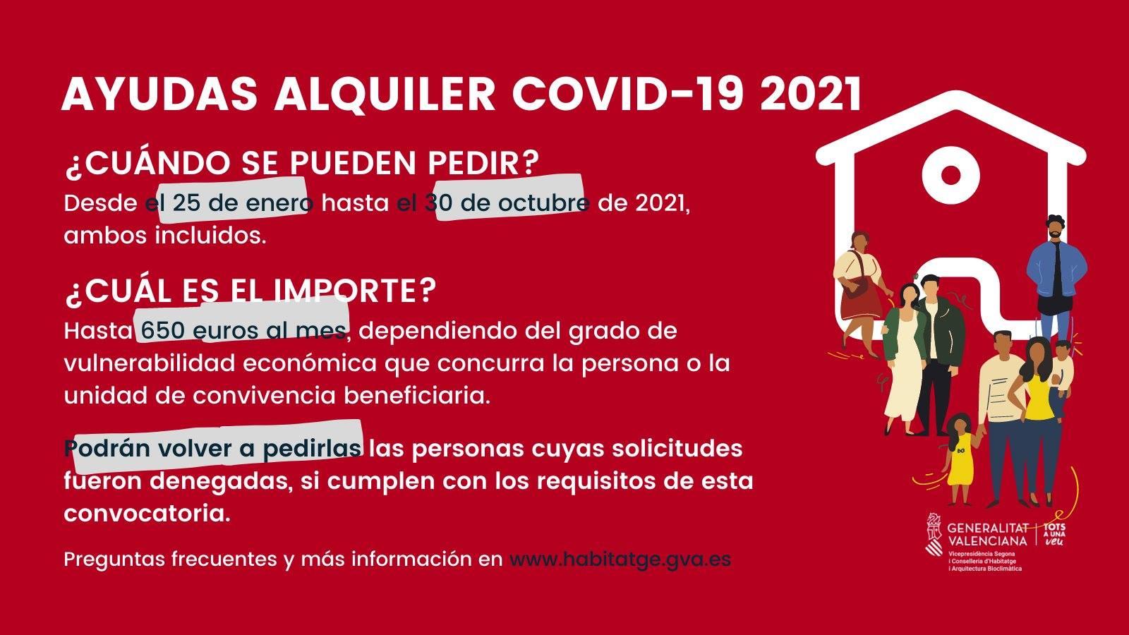 Ayudas alquiler Covid-19 2021 Sanchis asesores