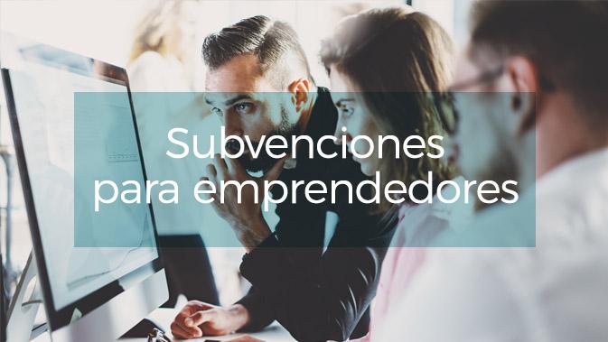 Subvenciones para nuevos autónomos Sanchis asesores