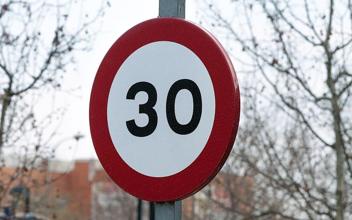 Nuevos limites de velocidad en ciudad Sanchis asesores